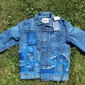 Levi's Made and Crafted Patchwork Denim Jacket